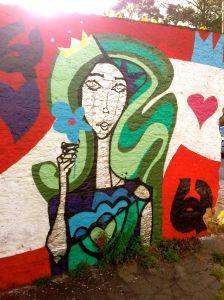 grafite mulher